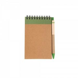 Notes A6 z długopisem
