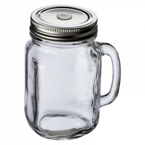 Słoik szklany do piciaTREVISO 450 ml