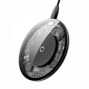 Transparentna ładowarka indukcyjna z kablem USB / Lightning 1,2M