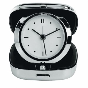 Zegar podróżny metalowy LAUSANNE