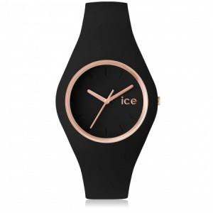 Zegarek ICE glam-Black rose-gold-Medium