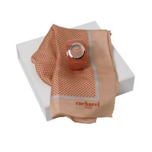 Zestaw CPFM401 - apaszka CFS401 `Naïades Corail` + zegarek CMN401 `Naïades Corail`