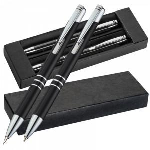 Zestaw piśmienny metalowy CLAREMONT