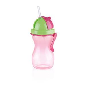 Butelka dziecięca ze słomką BAMBINI 300 ml