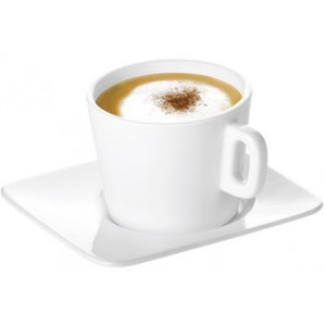 Filiżanka do cappuccino z talerzykiem GUSTITO 200ml